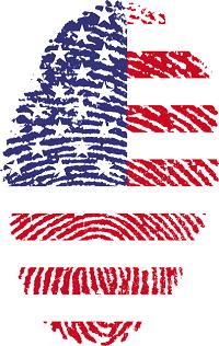 A digital fingerprint showing user activity
