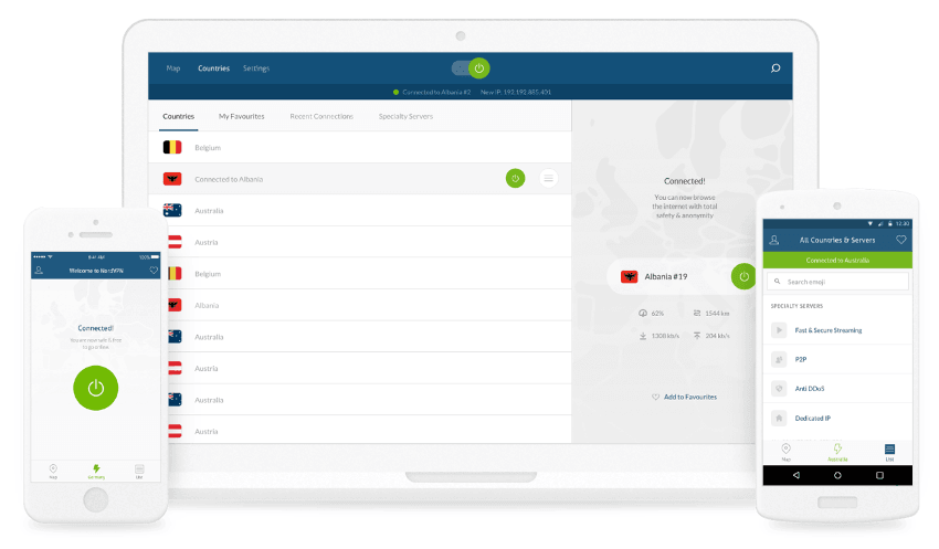 NordVPN for downloads in the UK