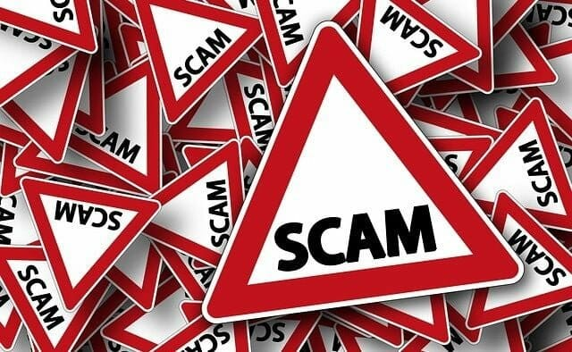 Scam notices that take advantage of file-sharers