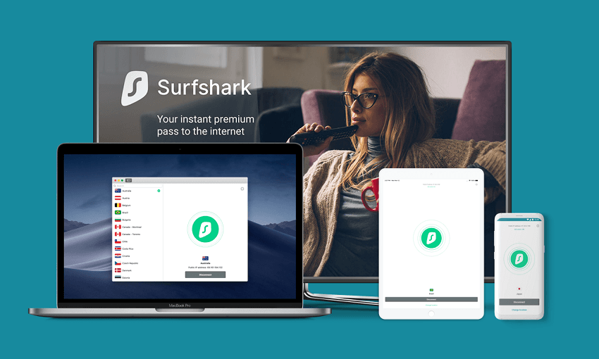 Surfshark is a new option for P2P