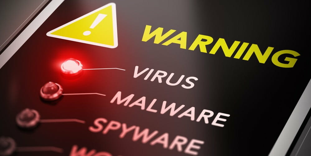 A virus detected while downloading a torrent file